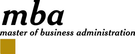 Masters In Business Vs Mba by File Mba Logo Gif Wikimedia Commons