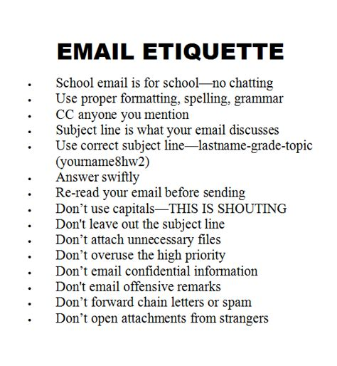 email ethics how to teach email to kids ask a tech teacher