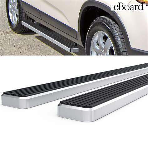 Kia Running Boards Eboard Running Boards Aluminum 4 Quot Fits 11 13 Kia Sorento