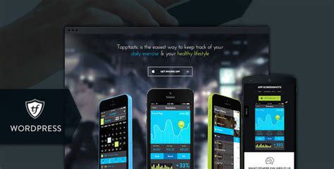 live themes for java mobile tapptastic app wordpress theme by themefuse themeforest