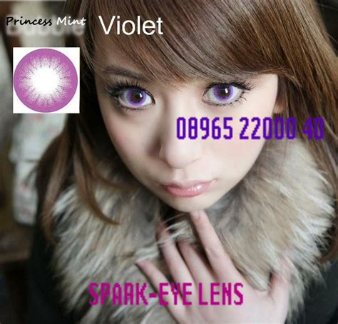 Promo Desio Violet Free Softlens Acak softlens princess mint 14 8mm spark eye softlens