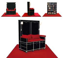 marvelous Bookshelf Design With Study Table #6: mobile-chair-bookcase-idea.jpg