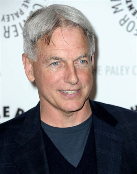 mark harmon haircut mark harmon in 27th annual paleyfest presents quot ncis quot zimbio