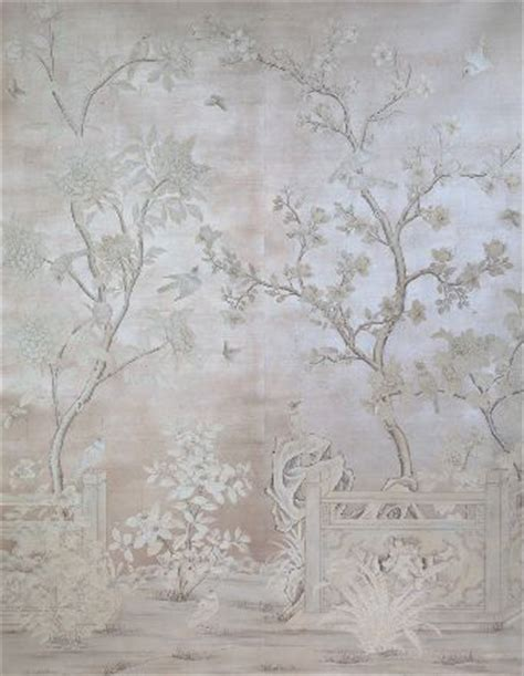 oriental wallpaper grey mother of pearl colour inspiration blues purples greys