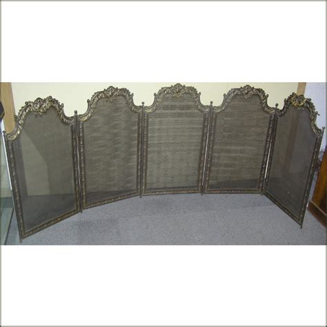 a french brass fire screen for sale antiques com
