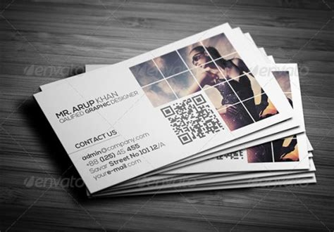 a list of exceptional photography business card templates