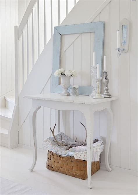 Hallway Table Decor 26 Interior Designs With White Console Tables Messagenote