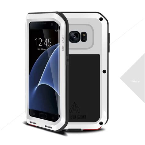 Mei Samsung S6 mei shockproof metal cover for samsung galaxy s5