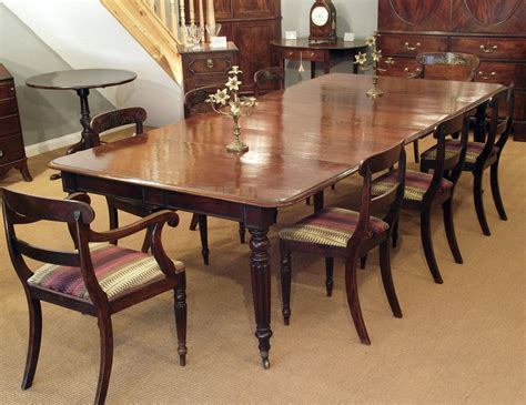 regency dining table antique dining table mahogany dining table extending dining table large