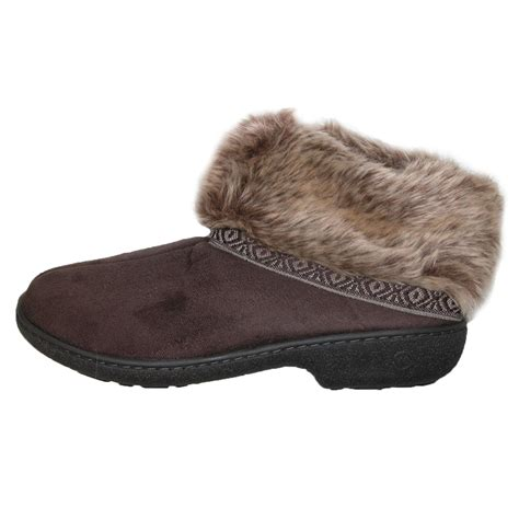 boot slippers womens low cut boot slipper by totes isotoner slippers