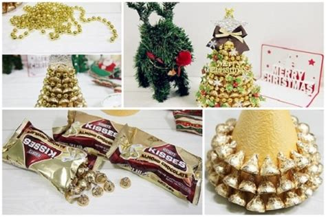 how to make christmas tree with recycled paper step by