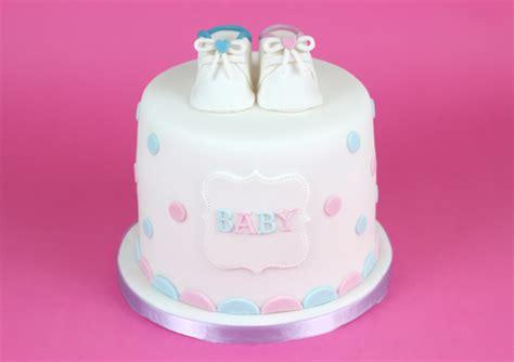 Polka Dots Baby Shower by Polka Dot Baby Shower Cake Cakey Goodness