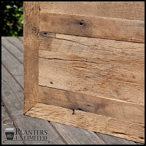 reclaimed wood planter recycled wood planters reclaimed wood planters barn wood planters
