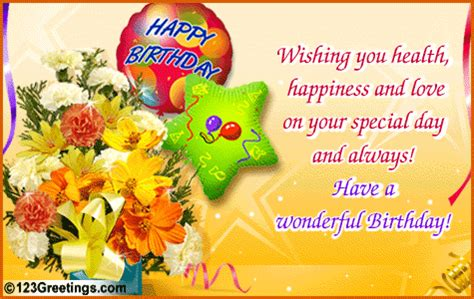 Birthday Wishes For Health And Happiness Best Birthday Greetings For Colleagues Best Birthday Wishes