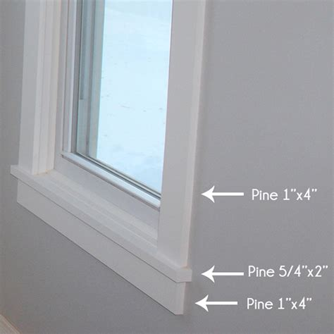 Interior Window Casing Styles by How To Install Craftsman Style Window Trim Teal And Lime