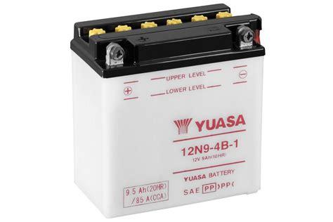 Motorrad Batterie Erhaltungsladeger T Test by 12n9 4b 1 Herk 246 Mmliche 12 Volt Motorrad Powersport