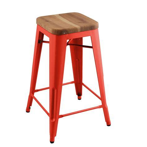 Replica Xavier Pauchard Stool by Replica Xavier Pauchard Wooden Seat Stool