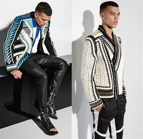 jeans style 2015 men balmain 2015 spring summer mens looks denim jeans