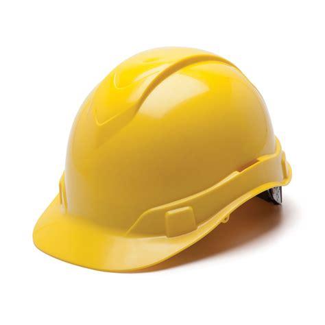Home Design 15 60 by Pyramex Ridgeline 6 Point Ratchet Hard Hat