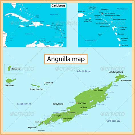 anguilla map anguilla map graphicriver