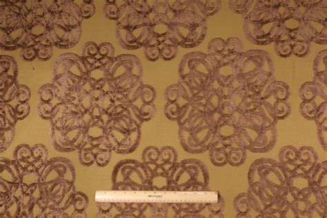 patterned velvet upholstery fabric robert allen archetype italian made velvet patterned