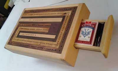 cribbage board  shop scraps woodworking blog