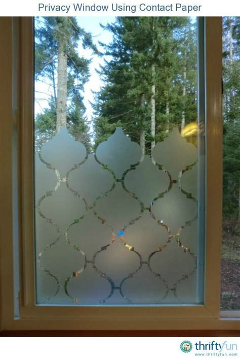 Fenster Sichtschutz Diy by Privacy Window Tip Projects Window