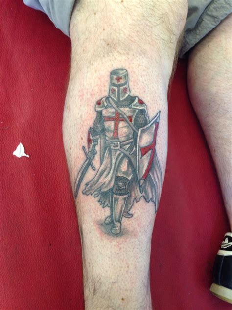 st george tattoos for men st george crusader templar kreuzritter