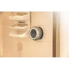Timer For Shower by The Shower Timer Is An Atomic Clock For Your Shower That