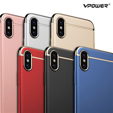 Hardcase 360 3in1 Protections Slim Fit Iphone 6 6s Unik for iphone x vpower 3 in 1 ultra slim for apple iphone x luxury pc plating phone