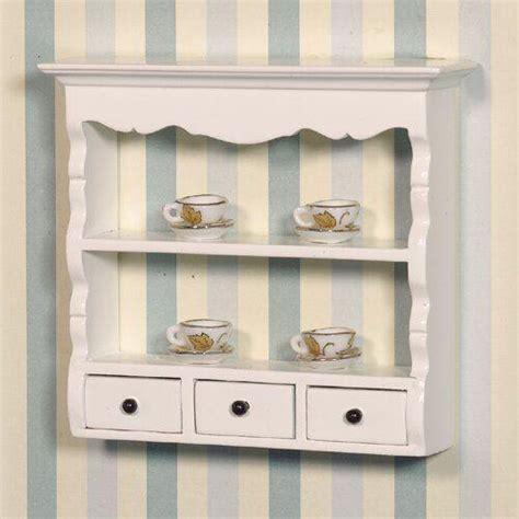 dolls house shelf unit the dolls house emporium white wall shelf unit