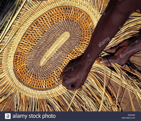 Pandanus Mats by Aboriginal Weaving Pandanus Mat Arnhemland Australia