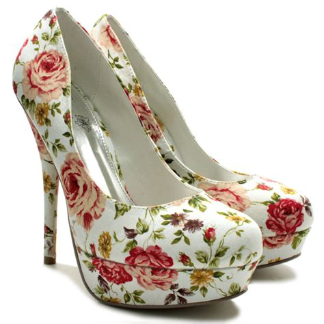 flower shoes with heels floral high heels quotes