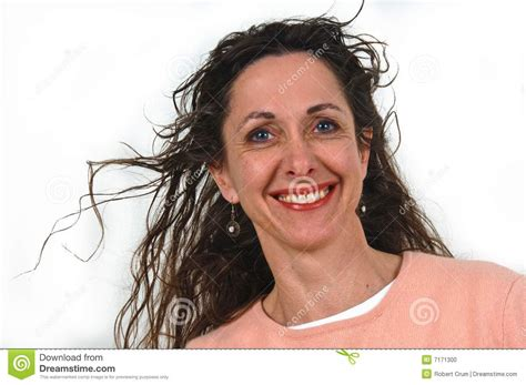 attractive middle aged women dark hair attractive middle aged woman stock photo image 7171300