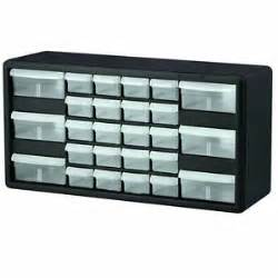 new homak 26 drawer plastic small parts organizer
