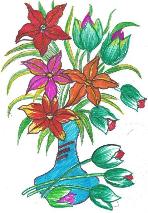 design of flower for painting desing flower clipart best