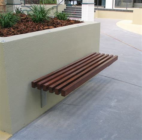 wall bench seating city wall mounted seat front urbanff