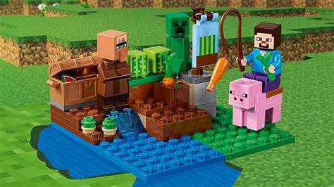 Lego 21138 Minecraft The Melon Farm the melon farm 21138 lego 174 minecraft products and sets lego my