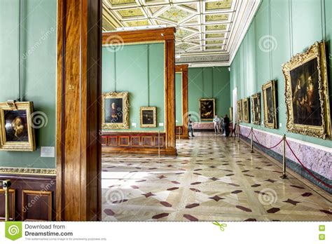room russia the rembrandt room in the hermitage museum in st petersburg rus editorial photography image