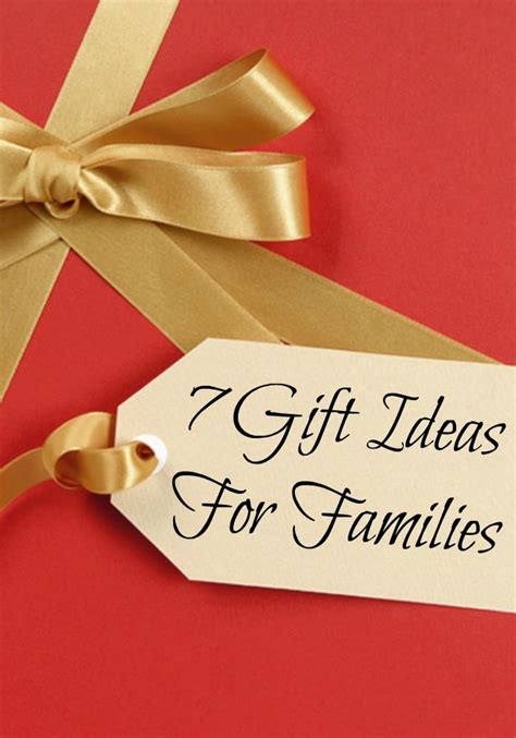 7 gift ideas for families hggforfamily