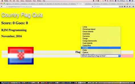 tutorial php quiz country quiz game suite youtube tutorial robert james