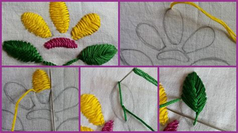Embroidery Handmade - simple embroidery work the handmade crafts