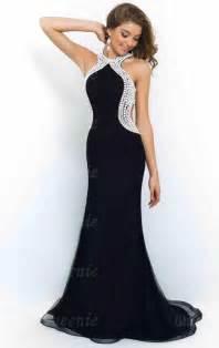 black long formal dress lfnce0002 formal dresses online