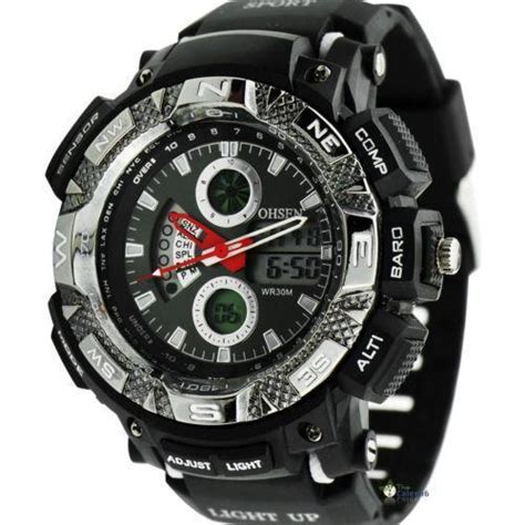 mens sport watches waterproof ebay
