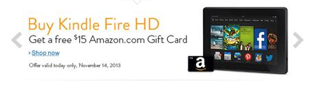 Kindle Fire Hd Gift Card - kindle fire hd deal buy a kindle fire get free gift card ftm