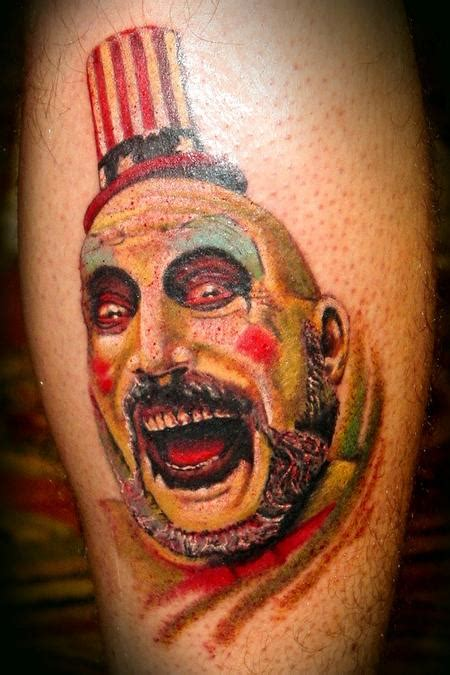 captain spaulding tattoo captain spaulding by peters tattoonow