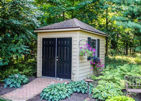 9 attractive garden sheds omg lifestyle