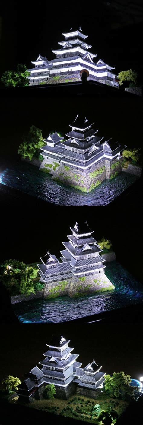 Cww 122 Impor 1 城郭プラモ大好き本舗 現存最古の五重天守 漆黒の松本城