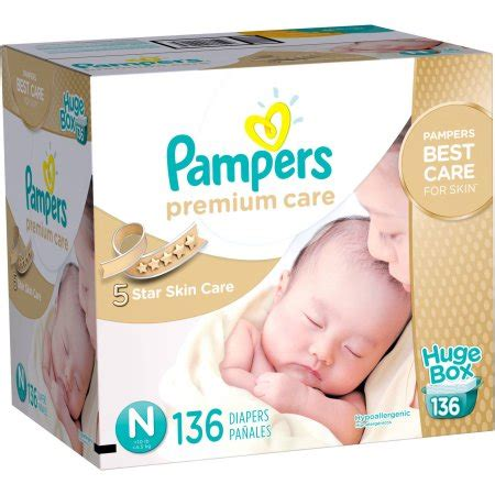 Wecare Diapers pers premium care disposable diapers size newborn choose count walmart