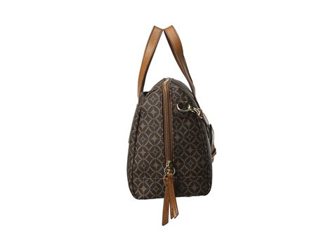 Tas Fossil Sudney Satchel Multi Brown fossil sydney satchel in brown lyst